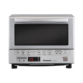 Panasonic® 1300W Flash Xpress Toaster Oven With Double Infrared Heating; Silver