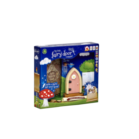 Irish Fairy Door Pink Arched