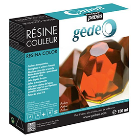Gedeo 150 ml Color Resin, Amber