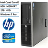 HP Elite 8200 High Performance Small Form Factor Business Desktop Computer , 8GB DDR3 RAM, 2TB HDD,