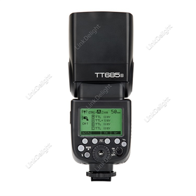 [US$102.69]Godox TT685S HSS 1/8000S GN60 TTL Flash Speedlite for Sony A77II A7RII A7R A58 A99 DS