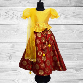 Baby Girl Lehenga - Buy Kids Lehenga from Pink Blue India