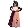 Indian Wedding Gown for Girls, Kids Ethnic Dress
