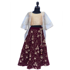 Designer Girls lehenga for Indian Wedding