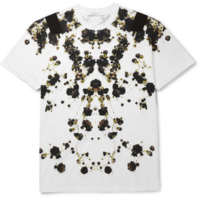 Givenchy - Botanical-Print Cotton T-Shirt | MR PORTER