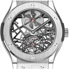 Hublot Classic Fusion Skeleton Tourbillon Mens Wristwatch Model: 505.NX.0170.LR