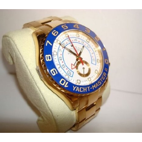 Men's 18K Gold Rolex Yachtmaster II Model # 116688: Watches: Amazon.com
