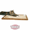 Trixie Sisal Scratching Plush Board Claw Mat Cat Pet