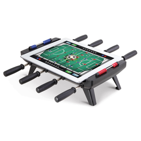 The iPad To Foosball Table Converter - Hammacher Schlemmer