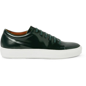Acne Studios - Adrian Leather Sneakers | MR PORTER