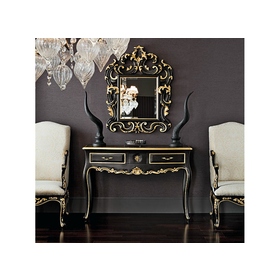 Solid wood console table 12607 Casanova Collection by Modenese Gastone group