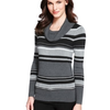 M&S Collection Cowl Neck Striped Jumper
