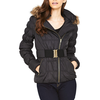 Lipsy Hooded Belted Padded Jacket