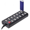 Xenta 13 Port USB2.0 Hub - Mains Powered